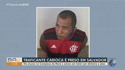 Traficante do Rio de Janeiro que estava foragido é preso em hotel, na capital baiana