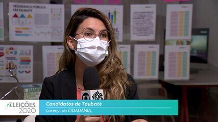 Candidata Loreny (Cidadania) fala sobre o emprego para cidade de Taubaté