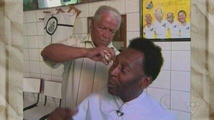 Didi, cabeleireiro de Pelé, fala sobre relação de amizade com o Rei