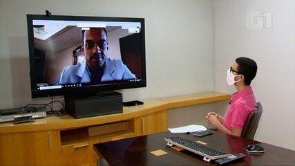Médico mastologista Rafael Sá fala ao G1 sobre prevenção do câncer de mama