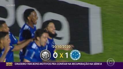 Cruzeiro tem bons motivos pra confiar na recuperação na Série B