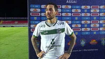 """Ariel Cabral acredita que Goiás deve corrigir detalhes: """"Só nós podemos tirar dessa situação"""""""