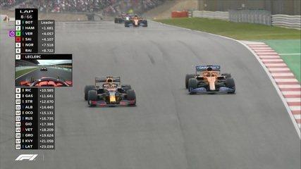 GP de Portugal: Verstappen ultrapassa Sainz