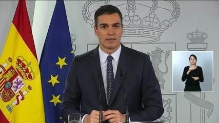 Espanha declara estado de emergência para frear a Covid-19