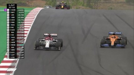 GP de Portugal: Raikkonen e Sainz disputam posição