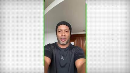 Ronaldinho Gaúcho confirma diagnóstico positivo de Covid-19