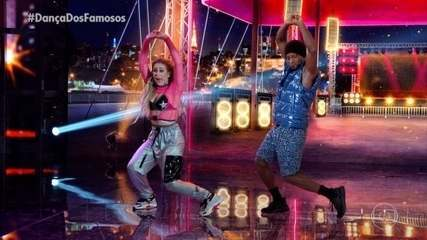 Zé Roberto e Larissa Lannes dançam 'Vai Menina'