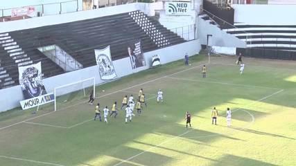 Gol de Central 1 x 0 Freipaulistano