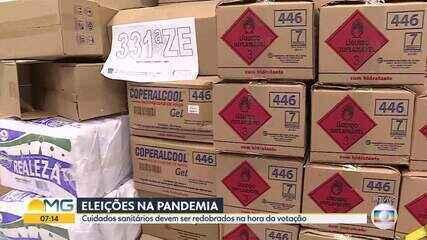 Eleições 2020: cartórios eleitorais já estão recebendo itens de higiene e proteção