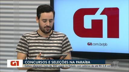 Relação de concursos oferece mais de 300 vagas na Paraíba