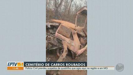 Polícia deflagra operação contra grupo investigado por furtar carros em Barretos, SP