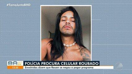 Homem é preso e adolescente é apreendido por suspeita de roubar e espancar cabeleireiro