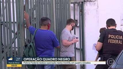 Polícia Federal realiza operação em Minas Gerais e outros três estados nesta terça-feira