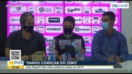 Linha do tempo: confira o que rolou da saída de Brigatti até o retorno do técnico ao Papão
