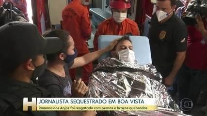 Polícia investiga sequestro de jornalista em Boa Vista