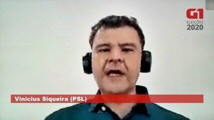 Vinicius Siqueira (PSL) fala sobre saúde em Campo Grande