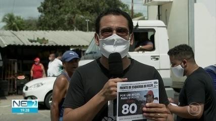 Thiago Santos propõe juntar trabalhadores à gestão de mercados e feiras no Recife