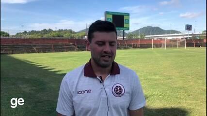 Zagueiro Romário relembra passagem pelo Internacional, onde foi campeão brasileiro sub-23
