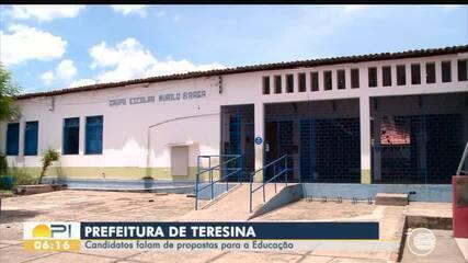 Candidatos a prefeito de Teresina apresentam projetos para a Educação da capital