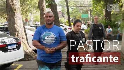 Suspeito de chefiar tráfico, pastor candidato a vereador é conduzido pela polícia, no RJ