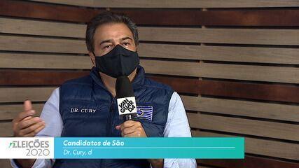 Candidato Dr. Cury (PSB) fala sobre educação para cidade de São José