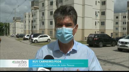 Veja a agenda de campanha de Ruy Carneiro nesta quinta-feira