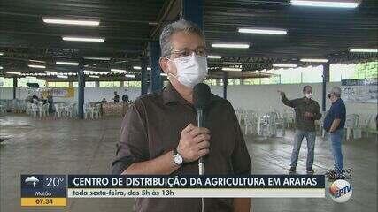 Centro de Distribuição dos Agricultores começa a funcionar nesta sexta-feira em Araras