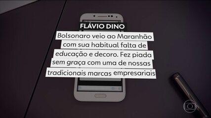 Bolsonaro se desculpa por piada homofóbica com guaraná rosa no Maranhão