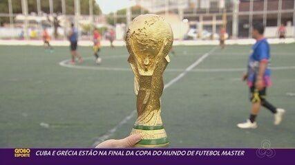 Cuba x Grécia são os finalistas da Copa do Mundo de Futebol Master do Amapá