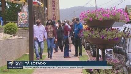 Com capacidade de hotéis em 80%, Monte Verde espera 5 mil turistas no feriado