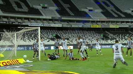 Melhores momentos de Botafogo 2 x 2 Ceará pela 19ª rodada do Brasileirão 2020