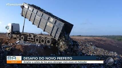 Candidatos e candidatas à Prefeitura de Salvador falam sobre problemas da coleta de lixo