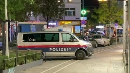 Polícia da Áustria investiga atentado que deixou quatro mortos em Viena