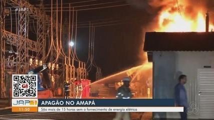 Apagão atinge municípios do Amapá e compromete serviços de comunicação