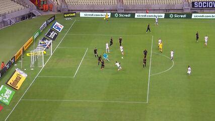 Melhores momentos: Ceará 1 x 0 Santos pelas oitavas de final da Copa do Brasil