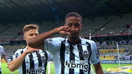 Os gols de Atlético-MG 4 x 0 Flamengo, pela 20ª rodada do Brasileirão
