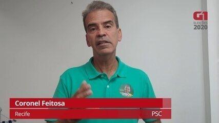 Coronel Feitosa fala sobre propostas da saúde para melhorar a atenção básica no Recife