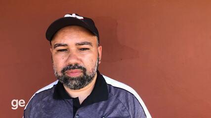 Técnico do Serra avalia a estreia do equatoriano Felipe Cuero
