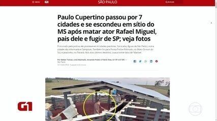 Paulo Cupertino passou por pelo menos 7 cidades