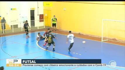 Campeonato piauiense começa com clássico e cuidados contra a Covid-19