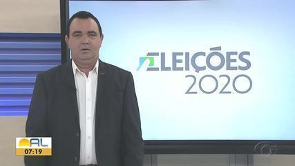Confira a agenda dos candidatos a prefeito de Maceió nesta quarta-feira