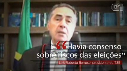 Barroso: 'Havia consenso acerca dos riscos da realização das eleições deste domingo'