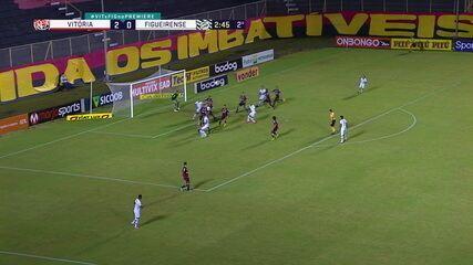 Melhores momentos de Vitória 3 x 0 Figueirense, pela 21ª rodada do Brasileirão Série B