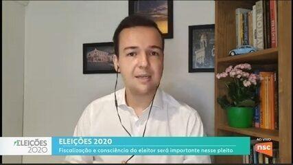 Ânderson Silva fala sobre as eleições em SC