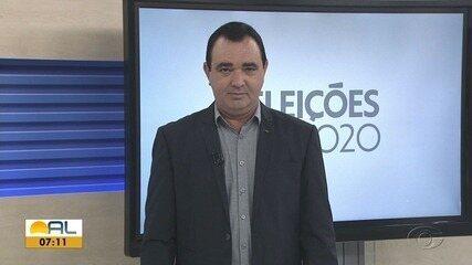 Confira a agenda dos candidatos a prefeito de Maceió nesta sexta-feira