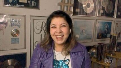 """Roberta Miranda explica que ganhou um par de chifres e ali nasceu a música """"Vá com Deus"""""""