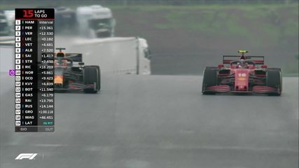 Leclerc passa Verstappen no GP da Turquia