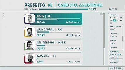Keko do Armazém, do PL, é eleito prefeito do Cabo de Santo Agostinho