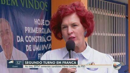 Flávia Lancha, do PSD, vai ao 2° turno das eleições em Franca, SP