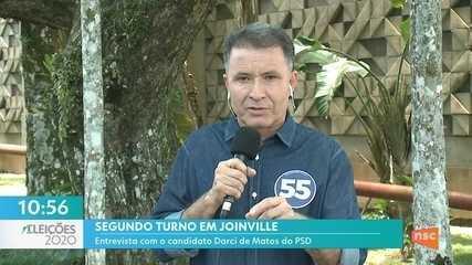 Confira a entrevista com o candidato Darci de Matos (PSD)